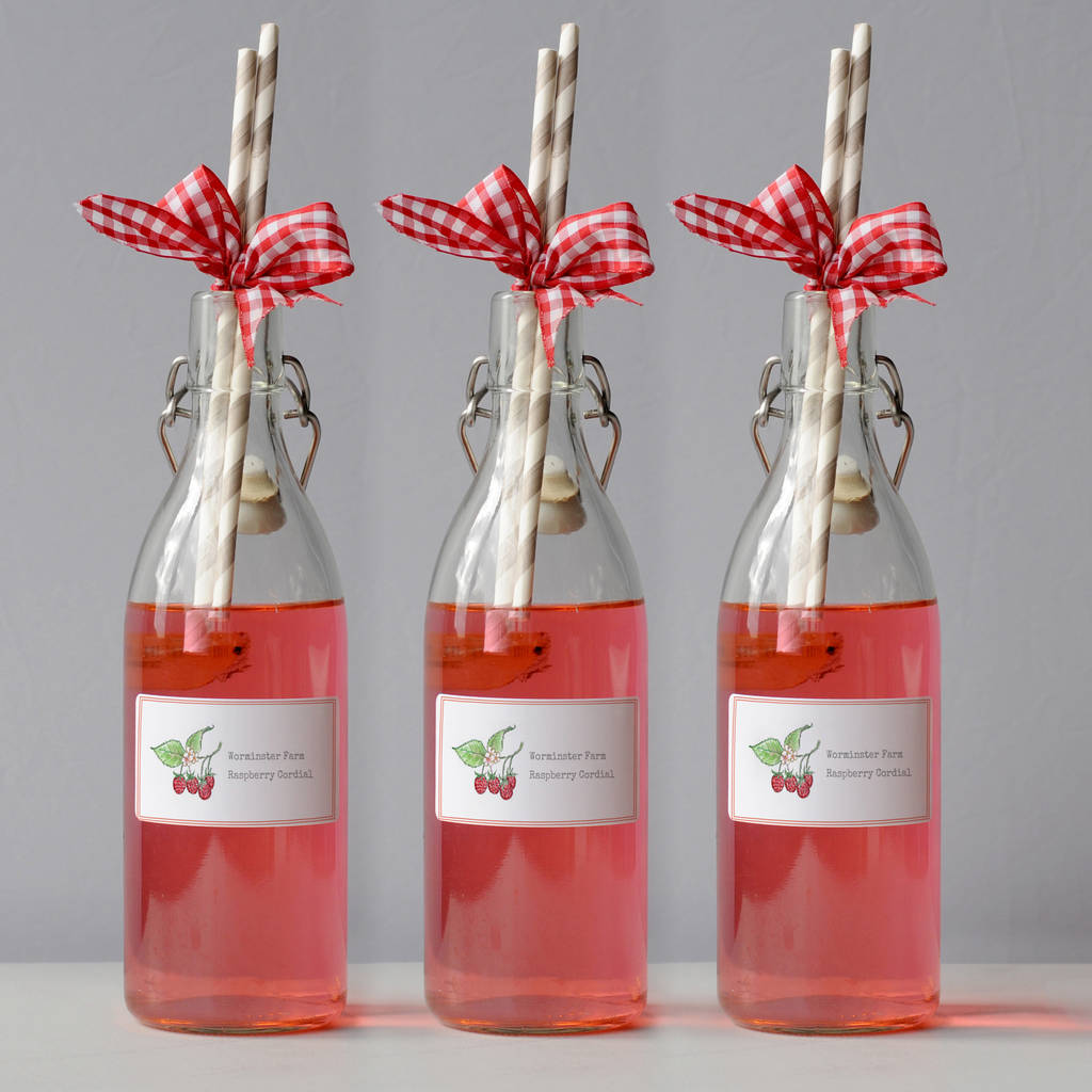personalised from the kitchen of labels by honey tree publishing