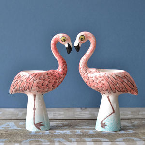 Flamingo Egg Cup - dining room