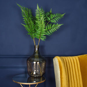 Faux Leather Fern Spray - home accessories