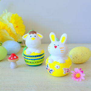 Paint Your Own Easter Decorations - easter decorations