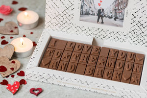 'I Love You To The Moon And Back' Chocolates - mother's day gifts