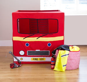 Fire Engine Play Tent - personalised