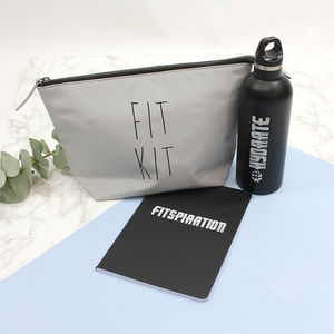 Gym Bag Gift Set - wash & toiletry bags