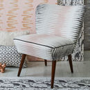 Vintage 1950s Bartholomew Cocktail Chair In Alana