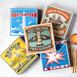 Large Box Luxury Matches - home accessories