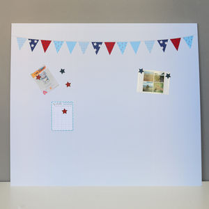 Giant Blue Bunting Noticeboard - noticeboards
