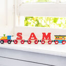 Exclusive Red Letter Name Train