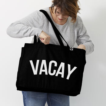 Personalised ' Vacay' Bag