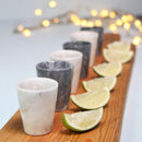 Marble Shot Glasses
