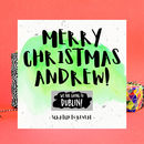 Merry Christmas Gift Reveal Card