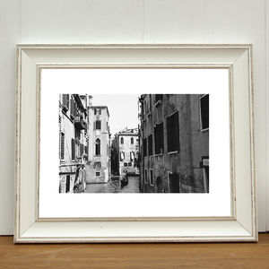 Gondola, Italy Photographic Art Print