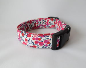 Tiggy Liberty Fabric Dog Collar