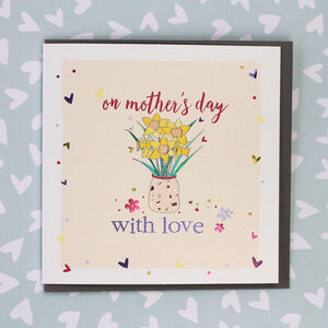 On Mother's Day With Love Card