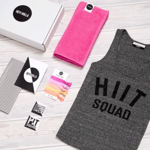 Hiit The Gym Top Fit Kit, Gift Box