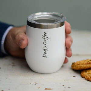 Dad's Personalised Reusable Travel Coffee Mug