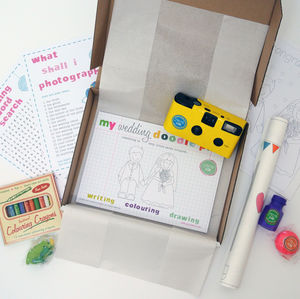 Child's Wedding Activity Box - wedding favours