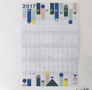 *Now Reduced* 2017 Year Planner : Pastel - gifts for her