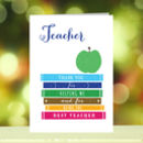 'Teacher Thank You' Card