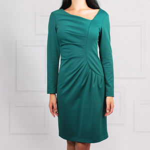 Frieda Dress Emerald - more