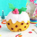 Christmas Pudding Decoration Sewing Craft Kit