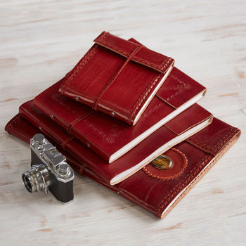 Fair Trade Leather photo Albums