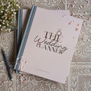 Wedding Planner Limited Edition In Blush And Rose Gold