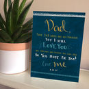 Dear Dad Father's Day Card