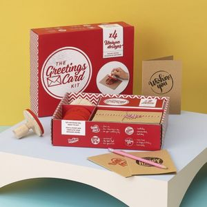 Greetings Card Kit - creative kits & experiences