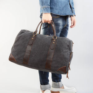 Canvas Kit Gym Bag - holdalls & weekend bags