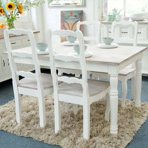 Bayonne White Or Grey Dining Table Multiple Sizes - dining tables
