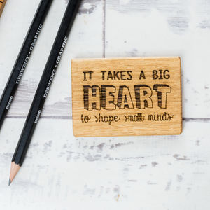 It Takes Big Heart Magnet - gifts for teachers