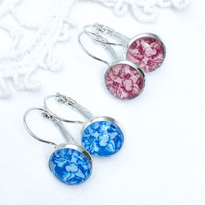 French Style Floral Earrings