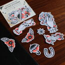 Traditional Style Tattoo Sticker Pack