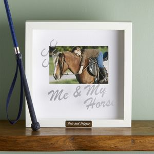 A Horse Lovers Photo Frame