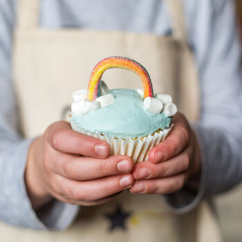 Rainbow Cupcake Baking Kit Gift