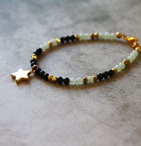 Children's Semi Precious Stone Charm Bracelet - children's jewellery