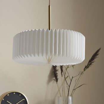 Pleated Hanging Pendant