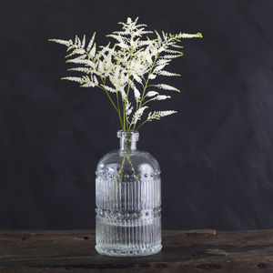 Vintage Glass Bottle Vase