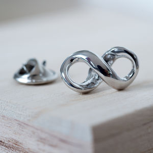 Infinity Pin - pins & brooches