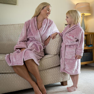 Personalised Supersoft Childrens Dressing Gown - clothing