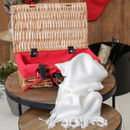 Luxury Pashminas In Personalised Hamper Gift Basket