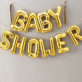 Baby Shower 16 Inch Balloon Letters - parties