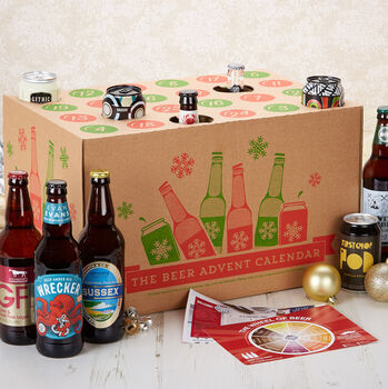 Festive 24 Bottle Craft Beer Advent