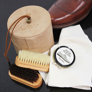 Gentlemen's Shoe Care Kit - men's fashion