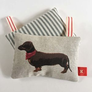 Chocolate Dachshund Lavender Bag