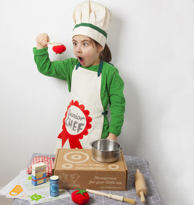Junior Master Chef / Kids Cooking Set - aprons
