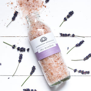 Pampering Pink Himalayan Salt Soak - bathroom