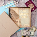 keepsake travel book