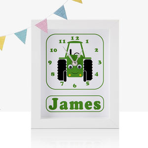 Personalised Transport Clocks