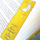 Personalised Card With Bookmark For Grandma